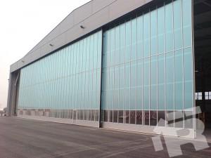 Ryterna Industrie Schiebe Tore mit Glas
